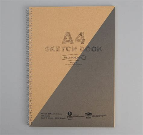 sketch book a4 a4 size sketchbook grey hickoree s