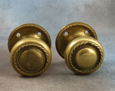 Antique Brass Door Knobs For Sale by Antique Brass Door Knobs Handles Pair For Sale Antiques