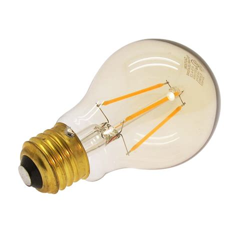 4w led filament bulb warm color 2200k e26 base