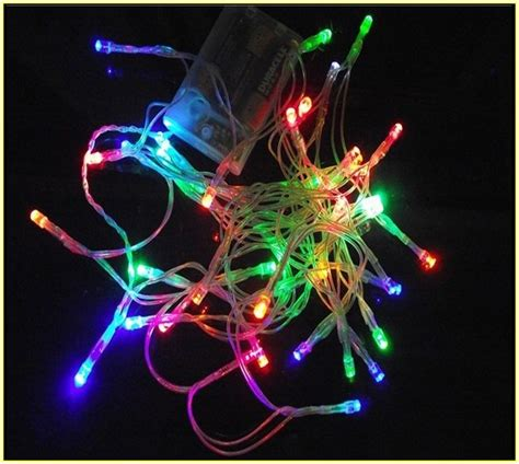 battery fairy lights walmart scintillating battery powered christmas lights walmart