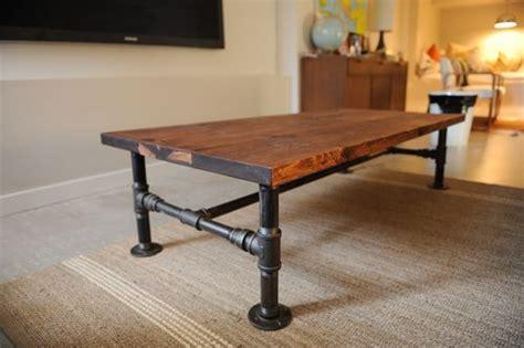 diy industrial coffee table legs diy industrial coffee table the locker