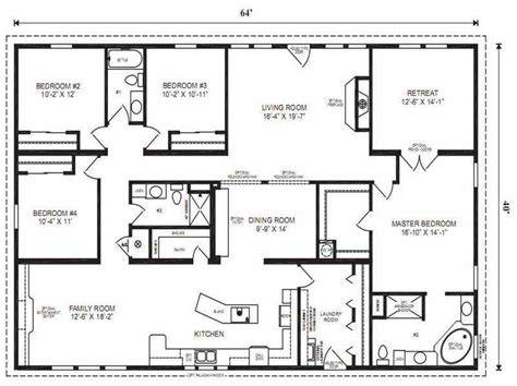 double master bedroom modular home floor plans modular home floor plans master