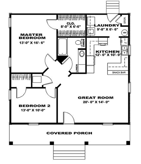 25 best ideas about 4 bedroom house plans on pinterest basic 2 bedroom house plans lovely best 25 small house
