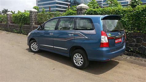 Spoiler Inova Model Standar new 2013 toyota innova diesel launched priced at rs 12 45 lakh overdrive