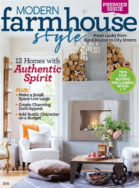 modern farmhouse style magazine digital discountmags