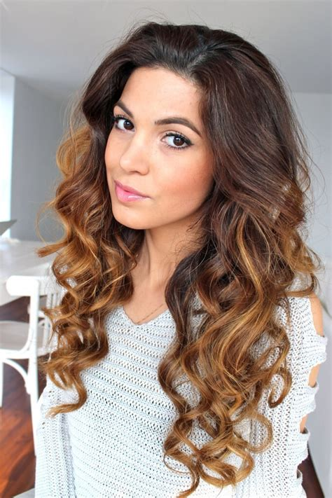 how to get curls like melanie on days of our lives a quick easy way to curl your hair when wet ready for the
