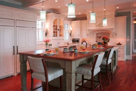 kitchen table and island combinations design decoration