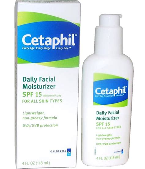 Daily Moisturizer Spf 15 cetaphil daily moisturizer lotion spf 15 the moisturizers that can t live