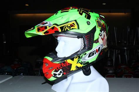 Helm Gm Scoopy Helm Gm Mini Cross Gak Perlu Diganjal Handuk Gilamotor