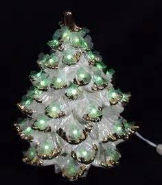 gold tipped christmas tree atlantic mold white ceramic poinsettia tree gold ornaments 14 quot ceramic molds