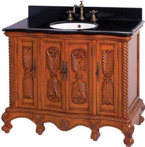 Vanity Legs Wood by Dreamline Dlvbj 005ao Antique Bathroom Vanity Solid Antique Oak Birch Wood Cabinet Frame And