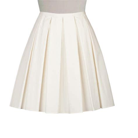 cotton boxed pleat skirt elizabeth s custom skirts