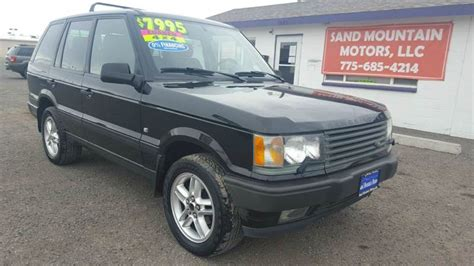 2000 land rover mpg 2000 land rover range rover 4 6 hse awd 4dr suv in fallon