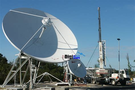 satcom earth station and vsat antenna maintenance services