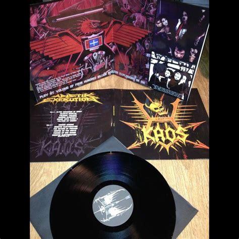 Kaos Lp Only You Black sadistik exekution the magus we are fukk you kaos black vinyls patch lp x 3 for