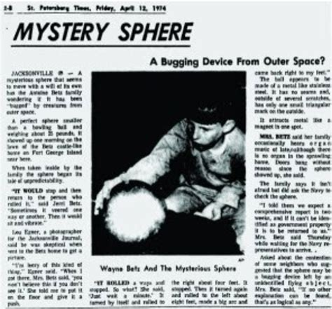 to the metal a of the south mystery books looking back at the mysterious betz sphere artifact