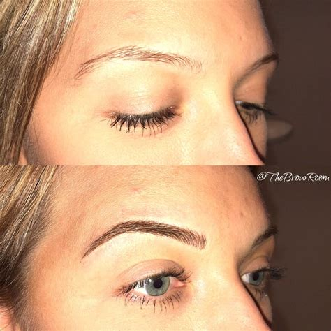 tattoo eyebrows for blondes beautiful blonde eyebrows before and after microblading
