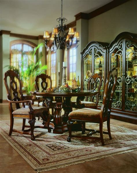 pulaski dining room set pulaski casa cristina la habana leg dining collection
