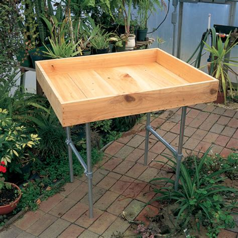 propagation bench heavy duty propagation benches turner greenhouses