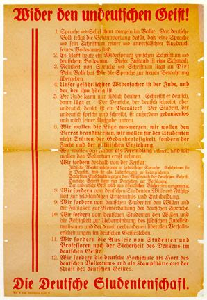 thesis translation german when books burn lists of banned books 1933 1939