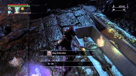 Ring Of Betrothal by Bloodborne Finding The Ring Of Betrothal