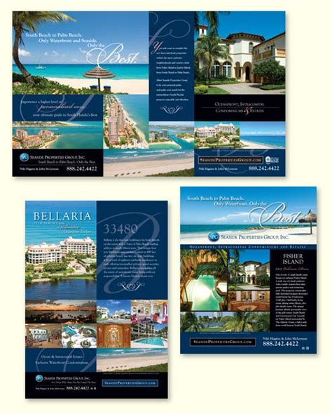 national print advertising for luxury real estate design