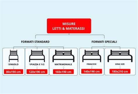 misure materasso matrimoniale dimensioni materasso una piazza e mezza