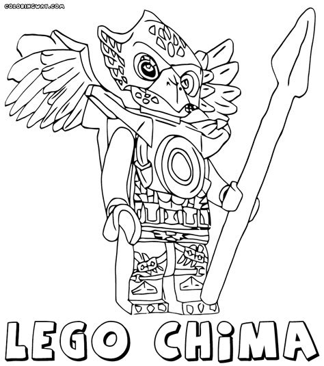 lego chima coloring pages lego chima gorilla coloring pages