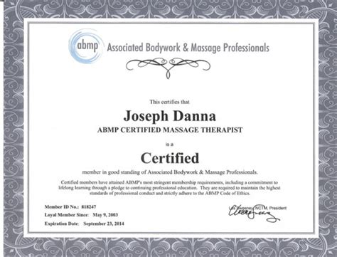 therapy certification atlantic muscular therapies llc certificates