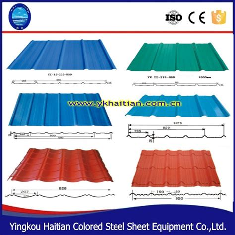 roofing and sheet metal types of metal roof sheets
