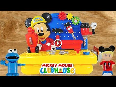 mickey mouse clubhouse work bench mickey mouse clubhouse handy helper workbench disney