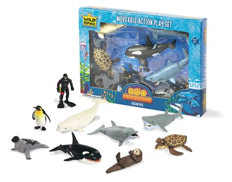 Playmobil Disc 50 republic eco expedition dive moveable play set