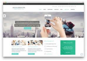 modern business website 40 awesome flat design themes 2016 colorlib