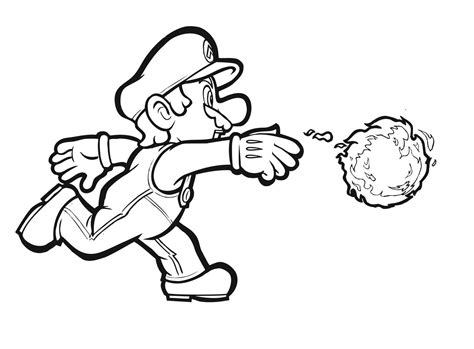 H Brothers Coloring Page by Mario Brothers Coloring Pages Timurtatarshaov Me