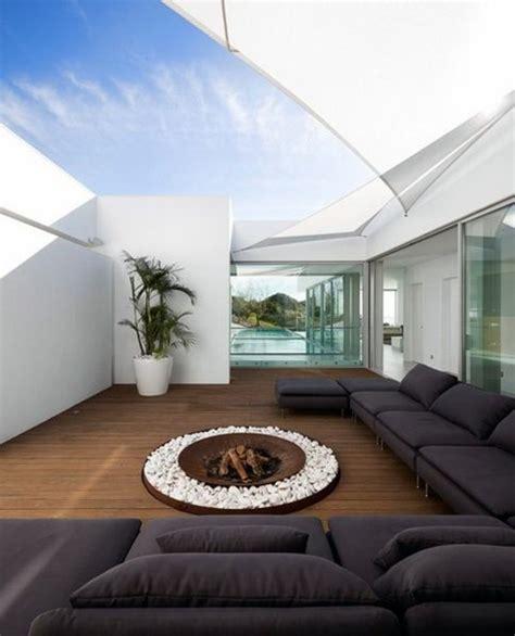 chiminea on balcony modern terrace design 100 images and creative ideas