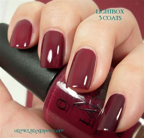 opi wine color my color this week malaga wine by opi ok