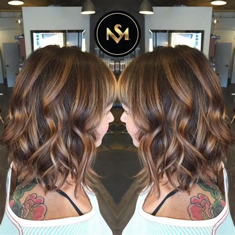 medium brown hair balayage pictures to pin on pinterest balayage hair dark brown medium length google search