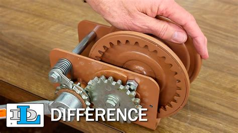 boat winch difference brake winches long version dl difference youtube