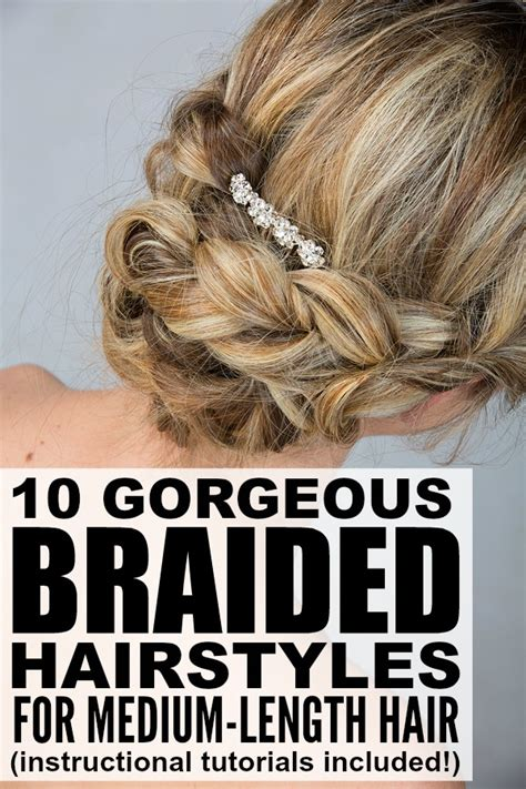 Braided Hairstyles For Medium Length Hair by 10 Braided Hairstyles For Medium Length Hair