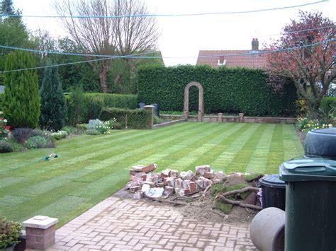 earth landscaping portfolio wickersley lawn garden landscaping