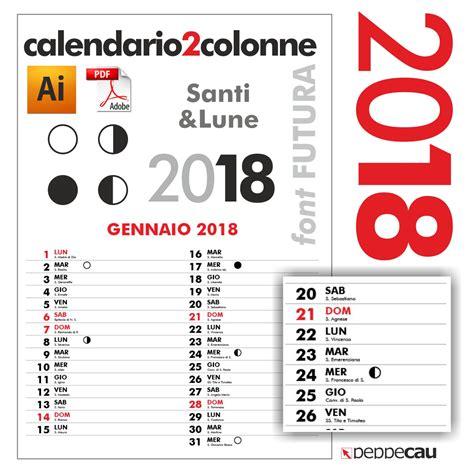 Calendario Mensile 2018 Calendario Mensile