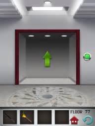 100 Floors Escape Level 77 - 100 floors level 77 walkthrough