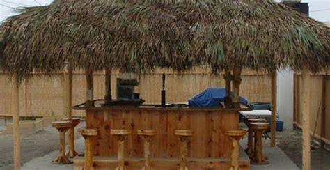 Tiki Huts For Sale Tikikev Tiki Bars Huts Tables And Accessories For Sale