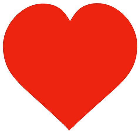 large heart shape clipart best free large heart template clipart best