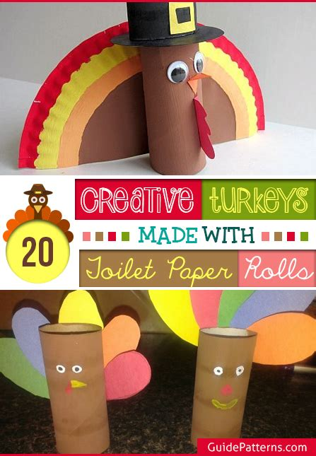 toilet paper guide 20 creative turkeys made with toilet paper rolls guide