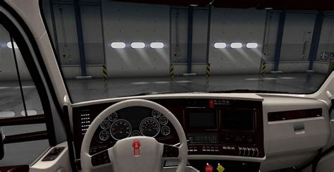 T680 Interior by Kenworth T680 White Interior Mod Truck Simulator