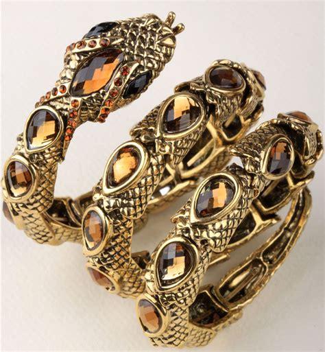 Snake Cobra Bracelet 1901 Jewelry stretch snake bracelet armlet arm cuff for