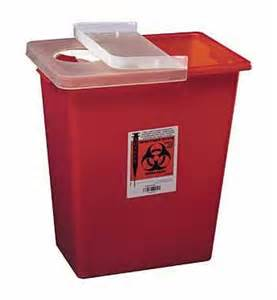 needle storage container used needle disposal