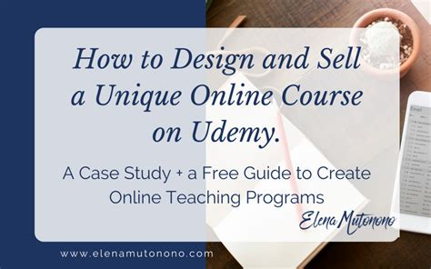 design online and sell how to design and sell a unique course on udemy 10 tips
