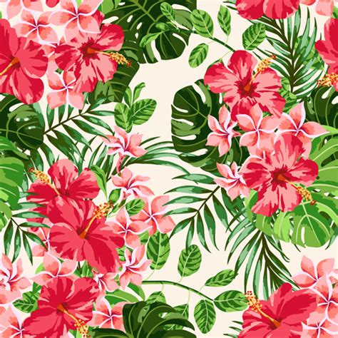 flower pattern vintage free download vintage flowers vectors seamless pattern 01 vector